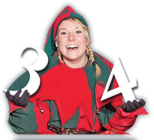 Elf with numbers