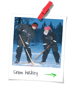 Snow Hockey